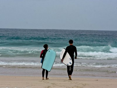 3 days surf package: lodging, lessons & materials
