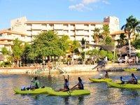 Parque de kayaks