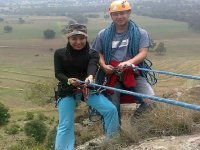 Rappel with instructor