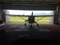 Avioneta para saltar en Celaya