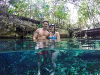 Snorkel with your partner