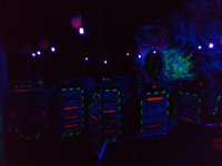 Atmosphere for laser tag game