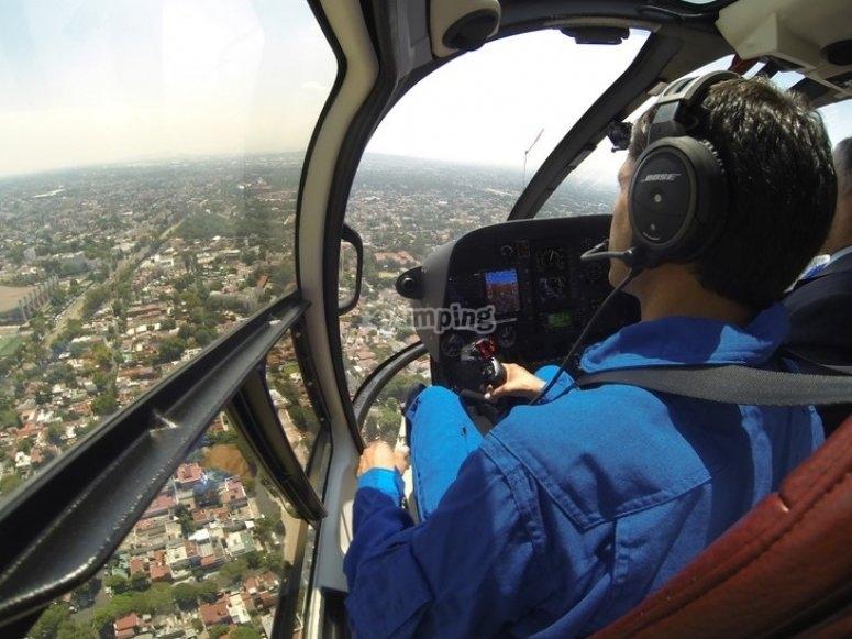 Piloto del helicoptero