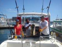 finalizando la pesca