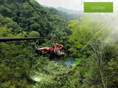 Treetop adventure with 13 zip lines, Vallarta