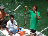 Pescando en Balam