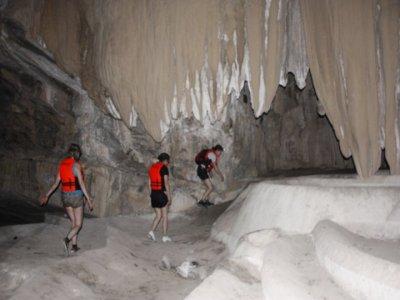 Chontacoatlan underground river tour