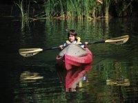 Nino in kayak