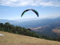 Fly in paragliding