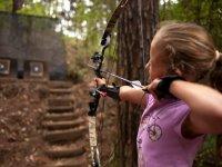 Archery of kids