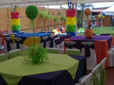 Kids party for 100 people