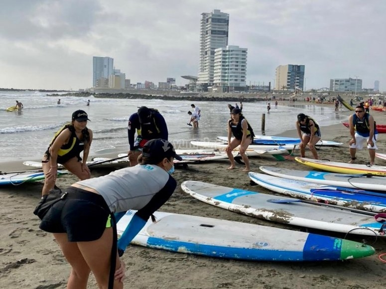 Clases de ´Paddle surf para principiantes