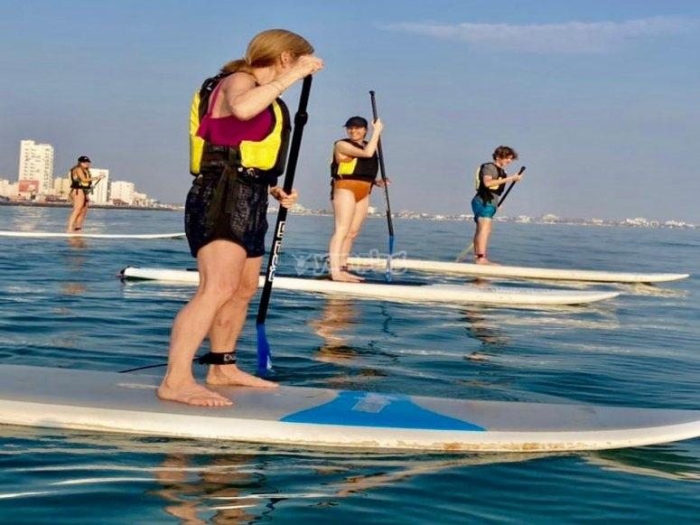 Aprender Paddle surf en Veracruz