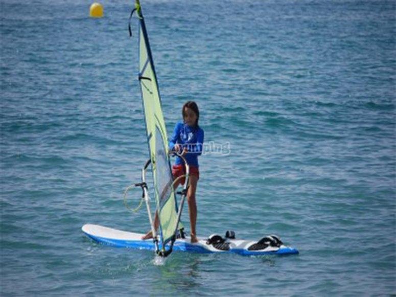 Practica Windsurf en Boca del río