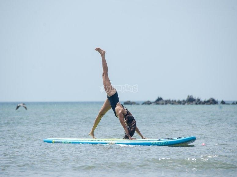 Sup yoga classes