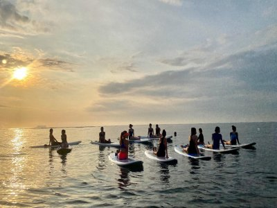 1h SUP yoga lesson in Veracruz
