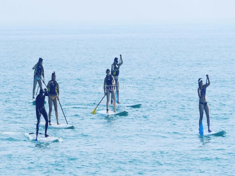 Stand up paddle en Veracruz