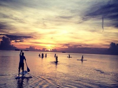 Renta de tabla de Stand Up Paddle por 1 hora