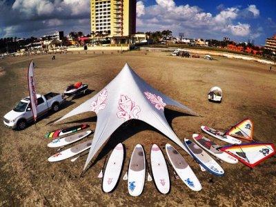 Renta de tabla de WindSUP por 1 hora en Veracruz