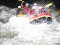 thrill in the rapids