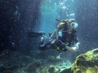 Diving dive at 18 meters Merida