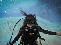 Rescue diving in Mérida