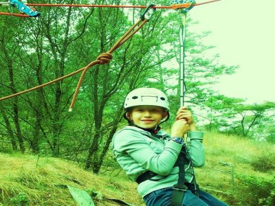 Zip line for groups eco-touristic park Charo