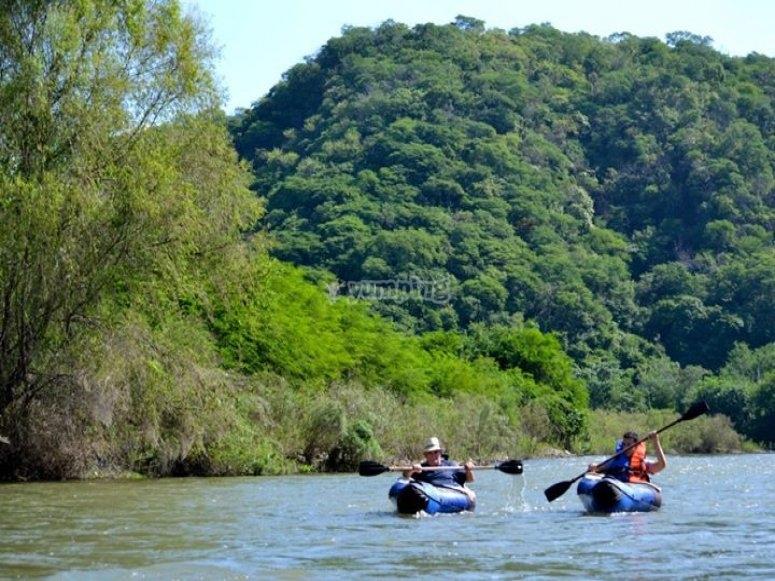 Descenso de río