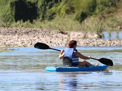Kayaking Down the Presidio River in Veranos Niño