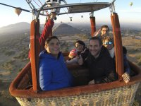 Enjoy a flight Balloon in Teotihuacan