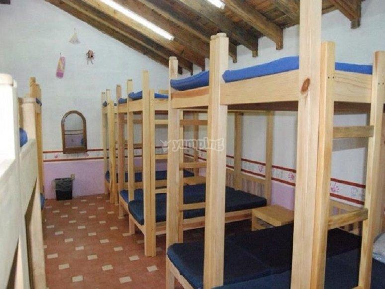 Habitaciones del camping