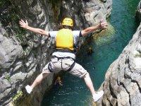 Saltando en Matacanes