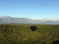 Hermoso paisaje y globo en Montemorelos