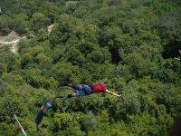 Saltando en bungee en Monterrey
