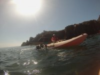 Adrenaline in kayak