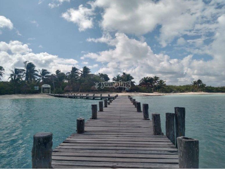 Llegada a Isla Mujeres