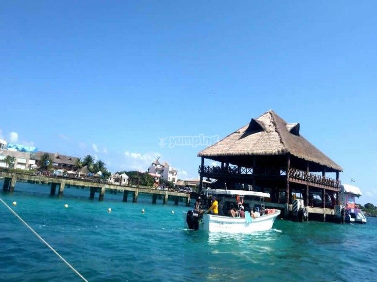 Vista de Isla Mujeres