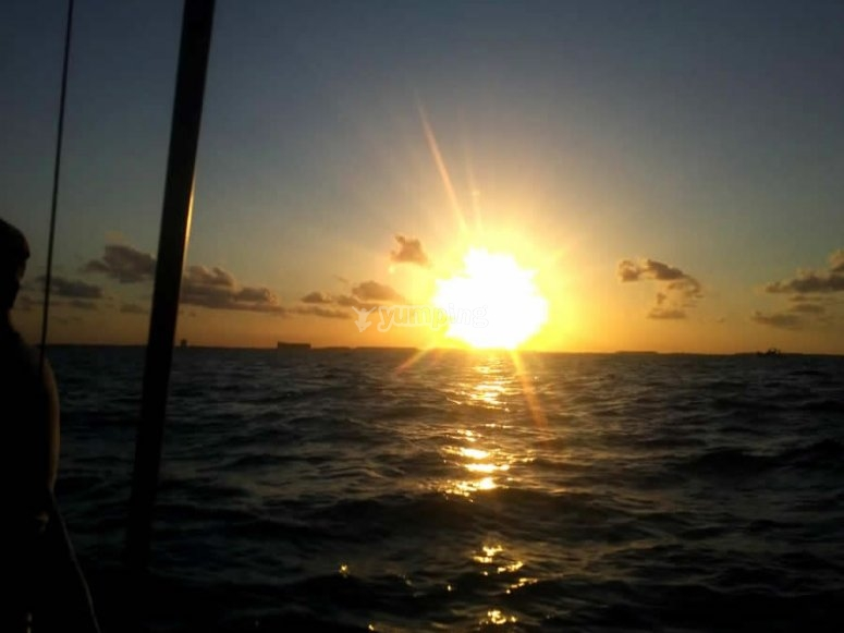 Atardecer en Isla Mujeres