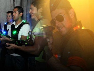 Six Flags México Laser Tag