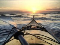 Kayaks en la bufadora