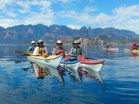Kayak en la Bahía de Loreto
