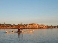 Paseo en kayak por la costa de Loreto