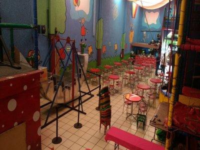 Fiesta infantil Plus de Garabatos con menú