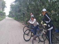 Con las bicis