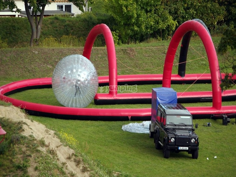 Zorbing for your event