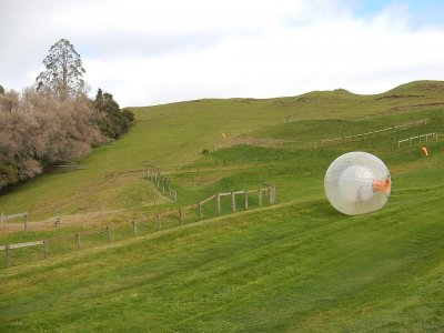 Ground Zorbing sphere renting, 4h, Mexico City