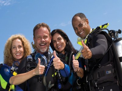 Scuba diving introduction course, Mexico City