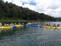 Todos a los kayaks