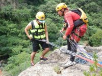 Canyoning+Meal in La Garita Canyon, 1 hour