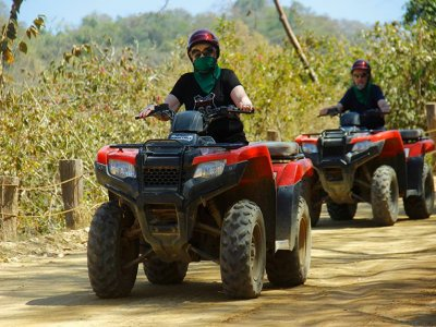 Double quads tour in Puerto Vallerta